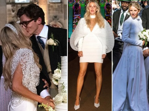Ellie Goulding wore four different wedding dresses – because one Chloe gown that took 640 hours to make wasn't enough