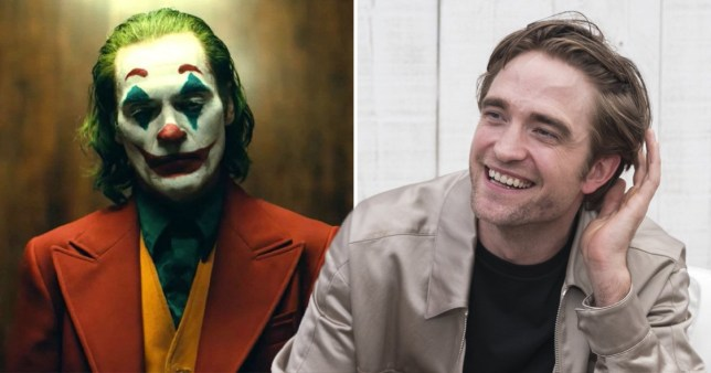 Could Robert Pattinson's The Batman share the tone of Joker? (Picture: Warner Bros; Rex)