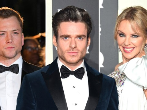 Winners are grinners as Richard Madden, Taron Egerton and Kylie Minogue scoop GQ Men Of The Year Awards