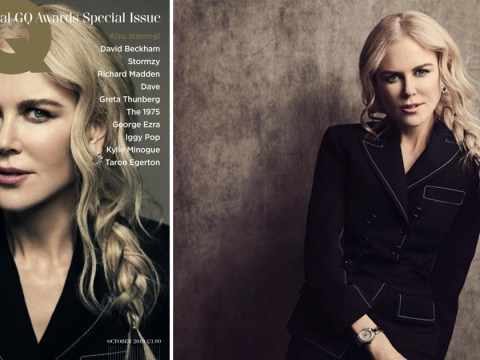 Nicole Kidman wins GQ's Actress of the Year and says husband Keith Urban is to thank for her 'confidence'