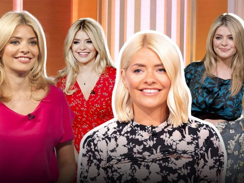 Holly Willoughby's 'rollercoaster' style transformation from cosy to chic as she celebrates 10 years of This Morning