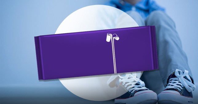 The Dairy Milk word free bar for Age UK