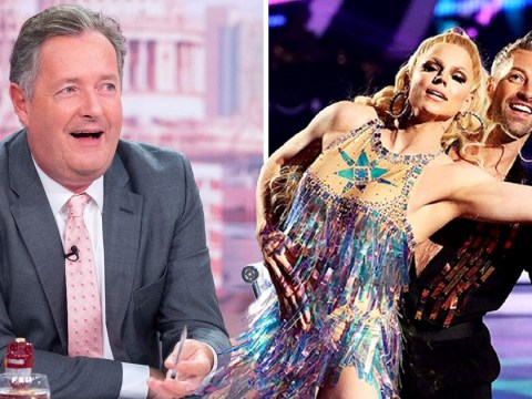 Courtney Act and Piers Morgan are unlikely allies in the Strictly Come Dancing same-sex couples row