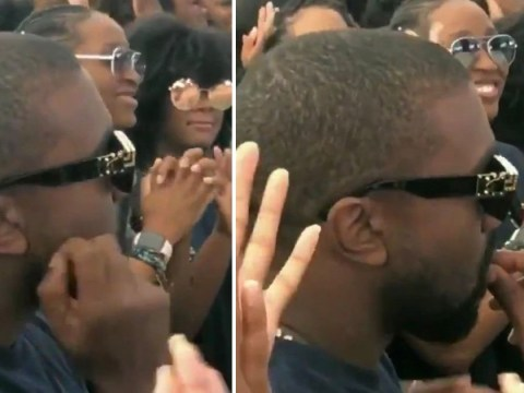 Kanye West 'eating his own earwax' in a crowd of people can't be unseen