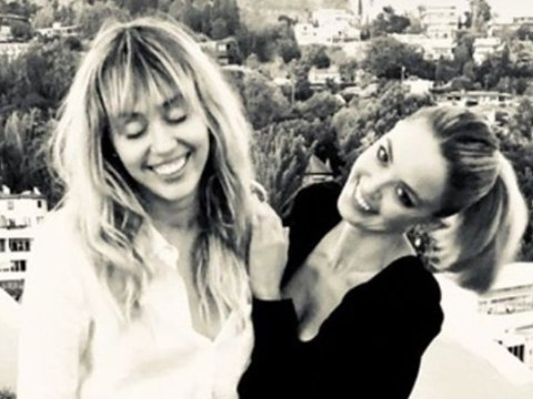 Miley Cyrus and Kaitlynn Carter look seriously coupley in latest photos and we're here for it