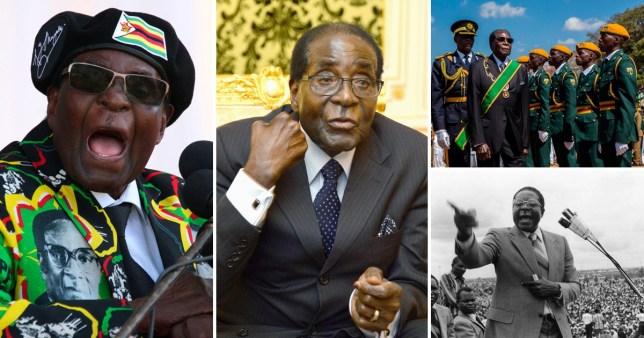 Former Zimbabwe President Robert Mugabe dead