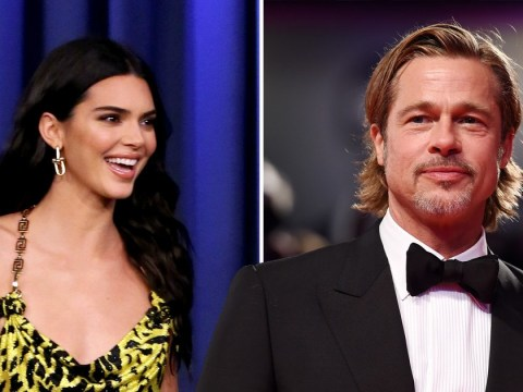 Kendall Jenner is all of us as she admits getting totally starstruck by Brad Pitt