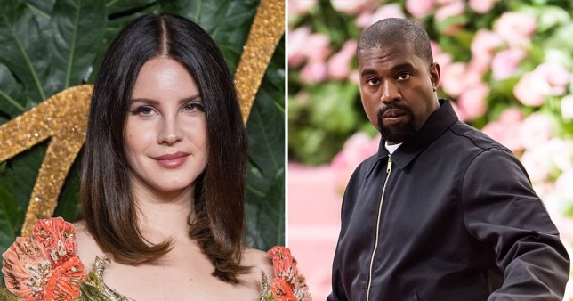 Lana Del Rey and Kanye West