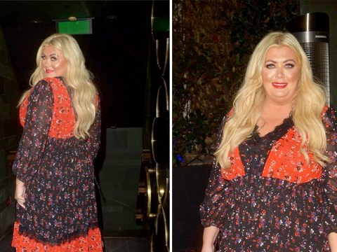 Gemma Collins clings on to summer as she glows on night out in London's West End