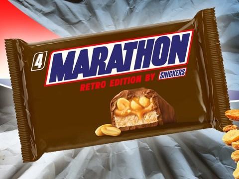 Retro chocolate bar lovers rejoice, Marathon bars are coming back