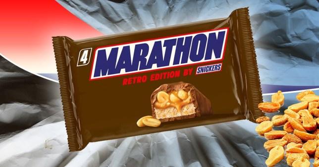 Marathon bar - Snickers
