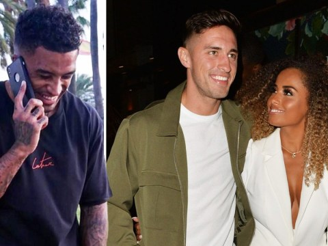 Love Island's Michael Griffiths shares picture of himself laughing as ex Amber Gill splits from Greg O'Shea