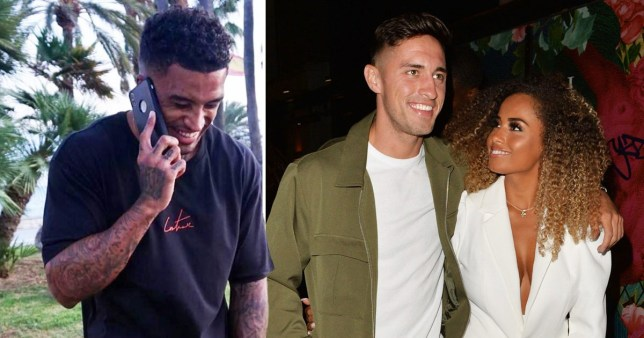 Love Island's Michael Amber and Greg