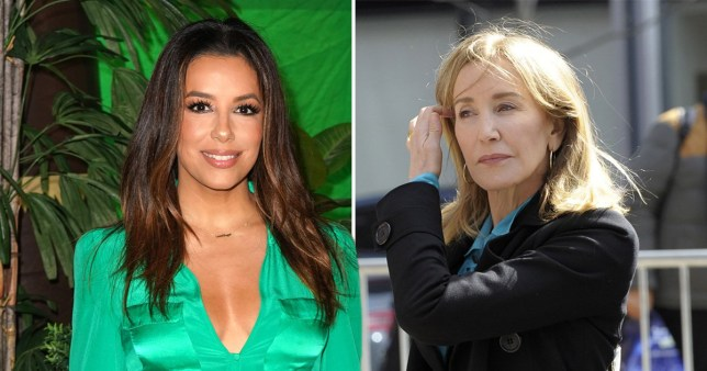 Eva Longoria writes letter of support to Felicity Huffman amid college admissions scandal