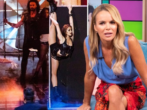 Amanda Holden's phone decides if Britain's Got Talent: The Champions act Deadly Games live or die tonight