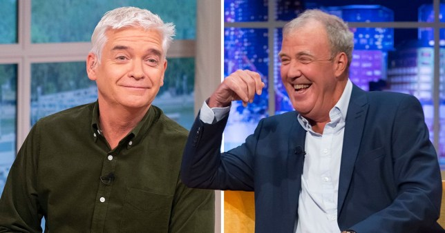 Jeremy Clarkson 'actually likes his job' as he pokes fun at Phillip Schofield