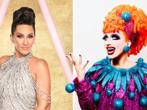 Bianca Del Rio hopes Michelle Visage 'moves as fast as her f***ing mouth' on Strictly Come Dancing