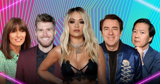 The Masked Singer presenter and panelists