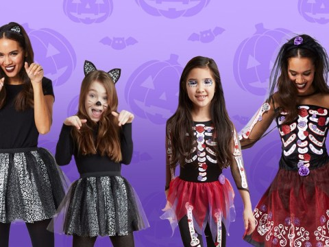 Asda launches matching Halloween costumes for mums and daughters
