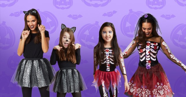 Halloween 2019 Costumes Girls.Asda Launches Matching Halloween Costumes For Mums And
