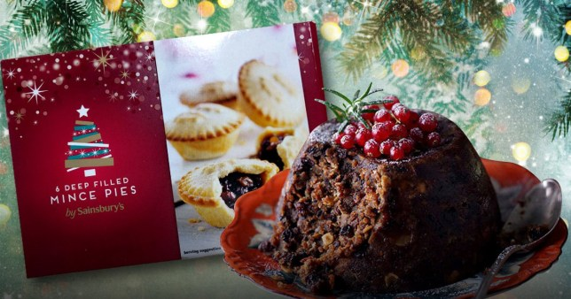 Christmas Desserts 2019.Sainsbury S Is Selling Christmas Pudding And Mince Pies In
