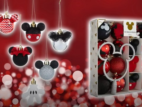 Primark's Mickey and Minnie Mouse Christmas baubles are back with new designs