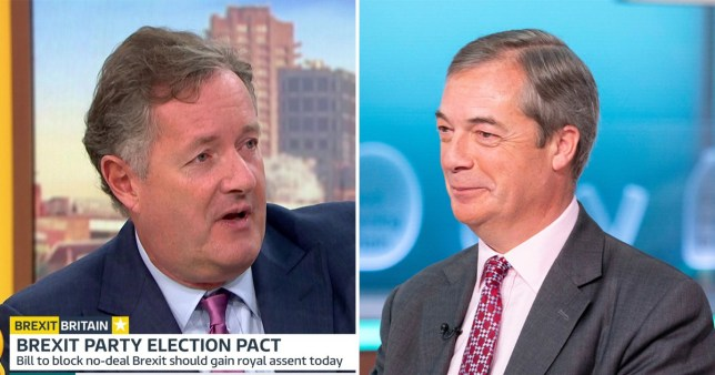 The Brexit Party leader said he was putting country before party