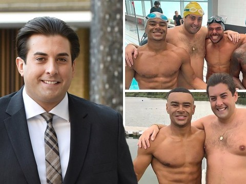 James Argent shows off new physique, rocks 'Sexy Beast' Speedo ahead of Dover to Calais charity swim