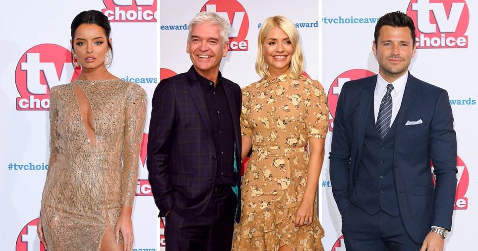 TV Choice Awards red carpet