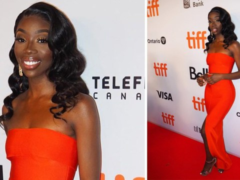 Love Island's Yewande Biala is living the high life as she attends TIFF premiere of Hustlers