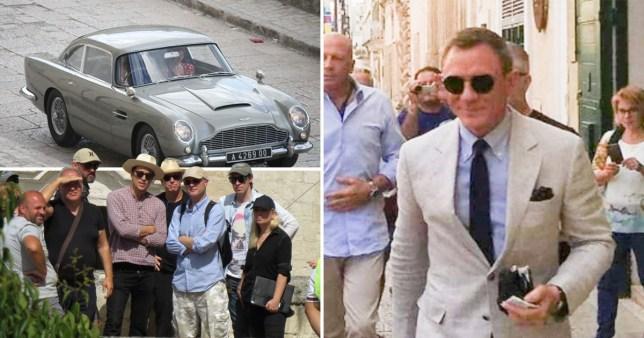 Daniel Craig ignores female James Bond debate as he films ...