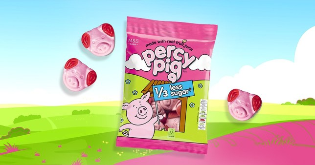 M&S Percy Pigs are now available with 36% less sugar