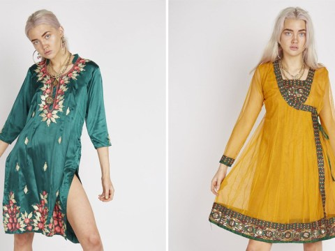 Brand selling south Asian salwar kameez as 'vintage dress' mocked for appropriation
