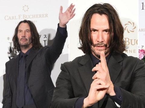 Keanu Reeves is 'breathtaking' as he takes on John Wick: Chapter 3 Parabellum Tokyo premiere