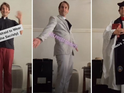 This priest makes the funniest TikTok videos on his 'Jesus stan account'