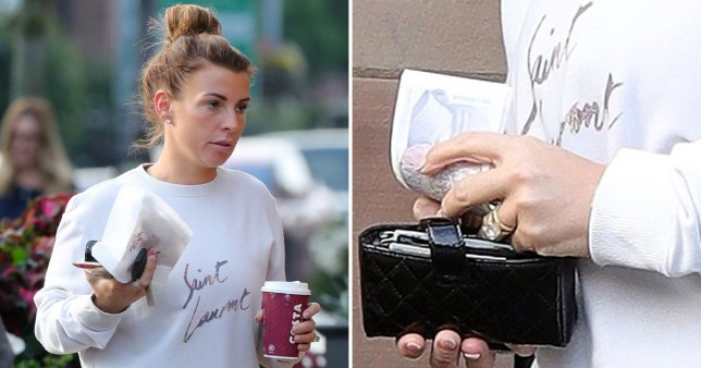 Coleen Rooney gets back to her gym routine in Cheshire as she flashes huge wedding ring after Wayne cheating claims