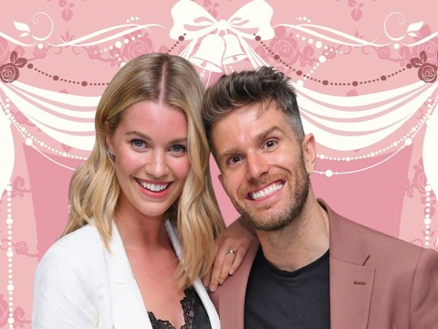 Joel Dommett shares first wedding photo and he rocked trainers with his suit