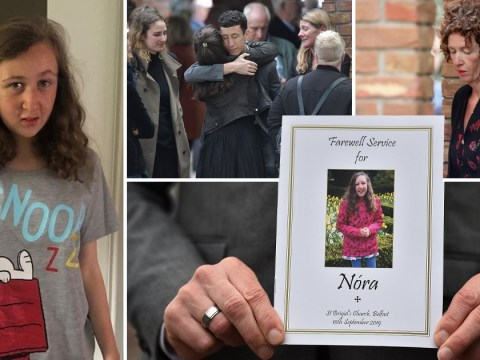 Nora Quoirin's family bid emotional goodbye to 'gentle and innocent' teen at funeral