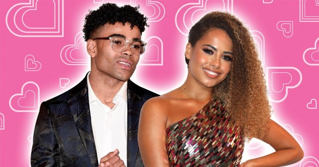 Amber Gill and Malique Thompson Dwyer