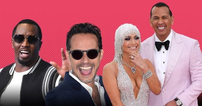 Jennifer Lopez exes