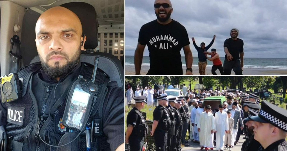 PC Shazad Saddique is being honoured with a charity hike on Saturday (Picture: Javed Saddique)