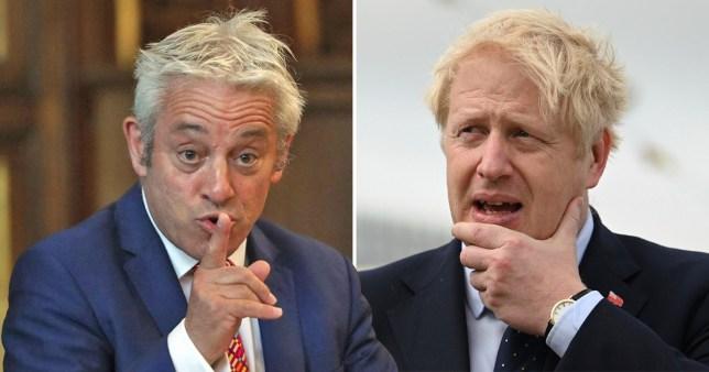 John Bercow vows to stop Boris