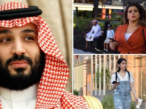 Rebel women fight back by wearing western clothing in Saudi Arabia