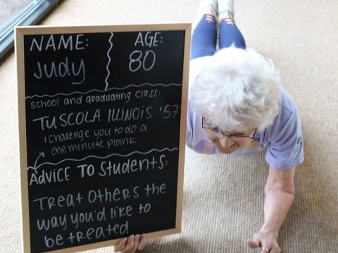 Retirement home residents give students advice in brilliant back to school photos