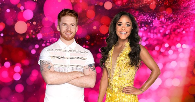 Neil Jones Alex Scott Strictly Come Dancing