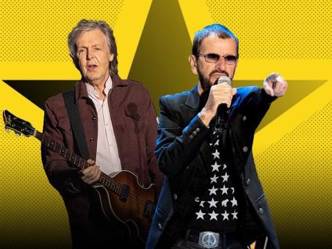 The Beatles' Ringo Starr and Paul McCartney reunite to cover John Lennon song
