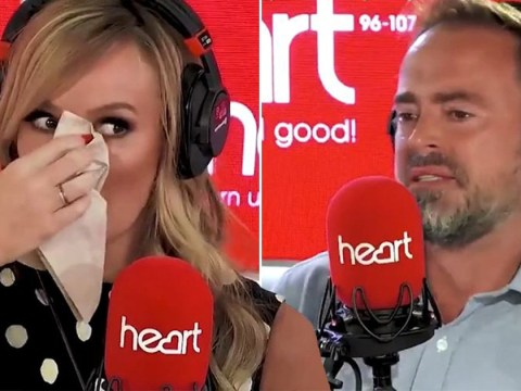 Amanda Holden breaks down in tears live on radio as mother who lost son to ALD opens up