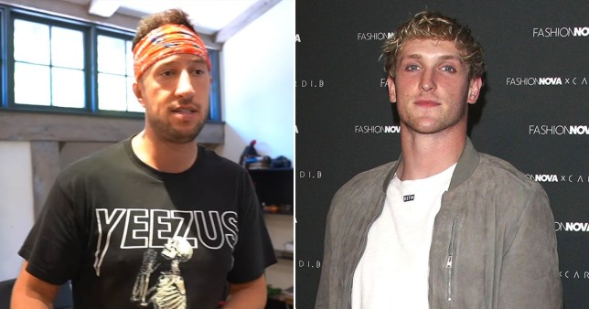 Mike Majlak and Logan Paul