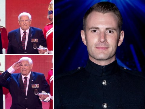 Britain's Got Talent winner Richard Jones in tears as he pays tribute to war veteran who died after he won the show