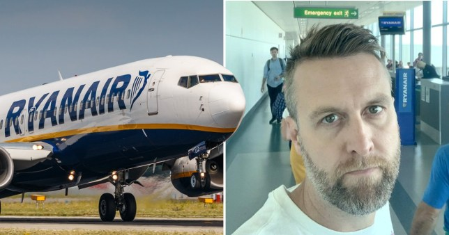 Mat McCallum missed his flight to Slovakia when Ryanair's system went down - preventing him from checking in luggage (Picture: Shutterstock,)